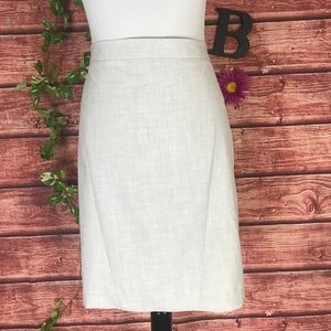 The Limited Skirt 16 Light Gray Pencil Straight